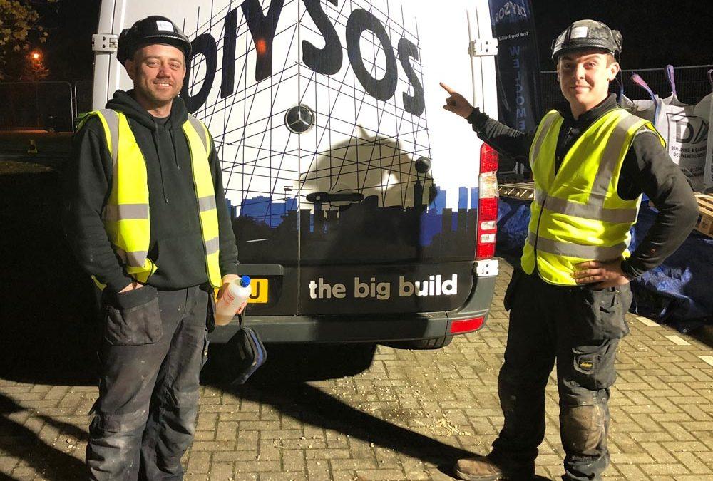 Heatlink Services on DIY SOS Big Build project in Mildenhall Suffolk